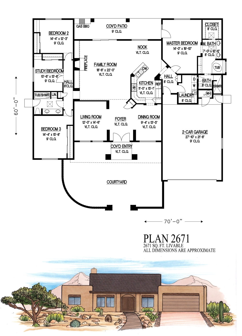 2500 to 3000 square feet for 2500 square feet floor plans